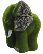 Kent Collection Flocked Elephant